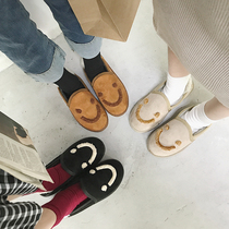 A8494811秋新品商场同款钻链绒面低跟女单鞋2018千百度C.BANNER