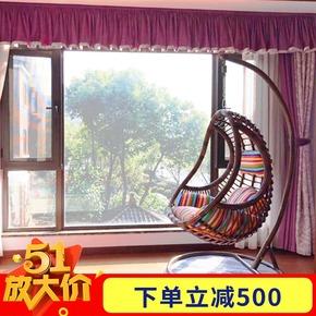 吊篮藤椅户外庭院鸟巢室内摇篮椅客厅花园成人摇椅秋千阳台吊椅