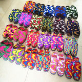 Pure new wool slippers hand ice bold line hook line 10 pairs of slippers, slipper home from special shipping