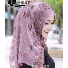 时尚穆斯林头巾