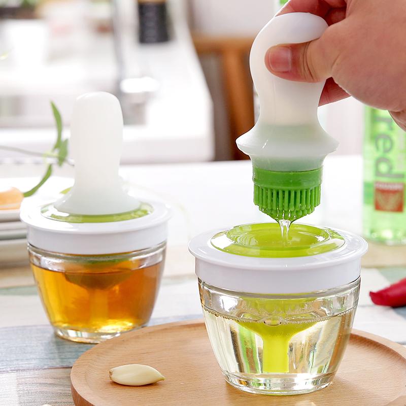 厨房油刷油瓶