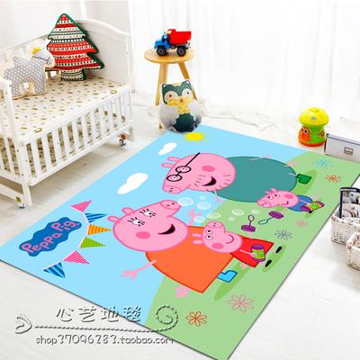 儿童地毯卡通卧室长方形