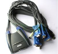 ATEN Acer is CS64US keyboard and mouse 4 port multi-computer sharing device kvm switcher 4 into 1 out VGA port USB
