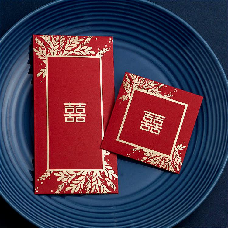 Праздничные красные конверты Артикул 592131433838