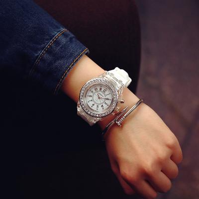个性手表女果冻