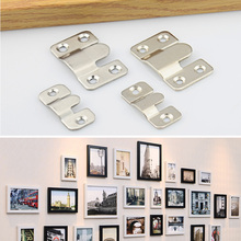 Stainless steel frame hanging hook frame hanging hook mother hanging frame hanging piece dark hanging hook hanging picture furniture mirror button accessories
