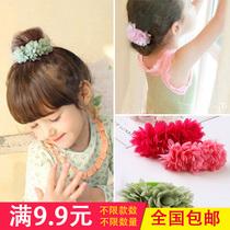 韩式潮流儿童发饰缎带打结发带女童发箍洋气头饰潮妞亲子母女发带