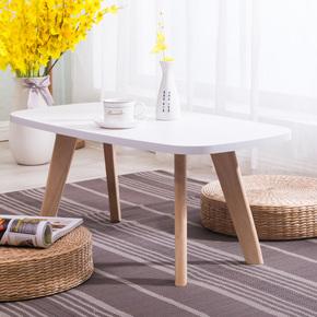 榻榻米茶几飘窗桌小茶几简约小户型迷你椭圆茶几创意日式矮桌炕桌