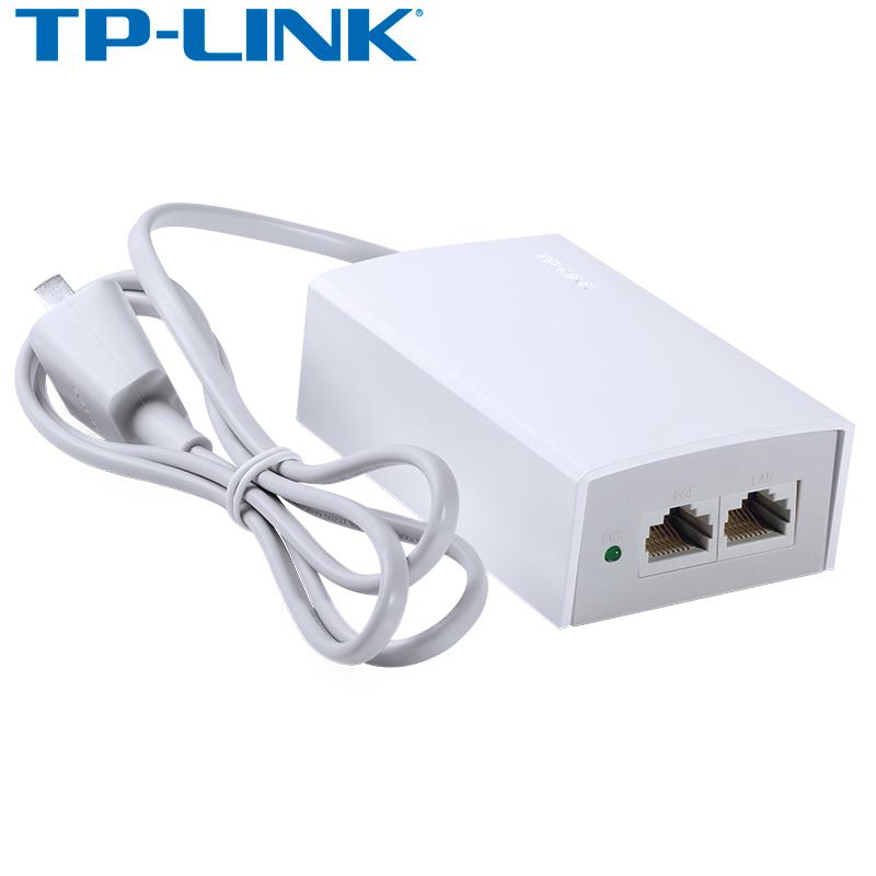 TP-LINK TL-POE100S POE供电器POE供电模块48V POE电源AP监控供电