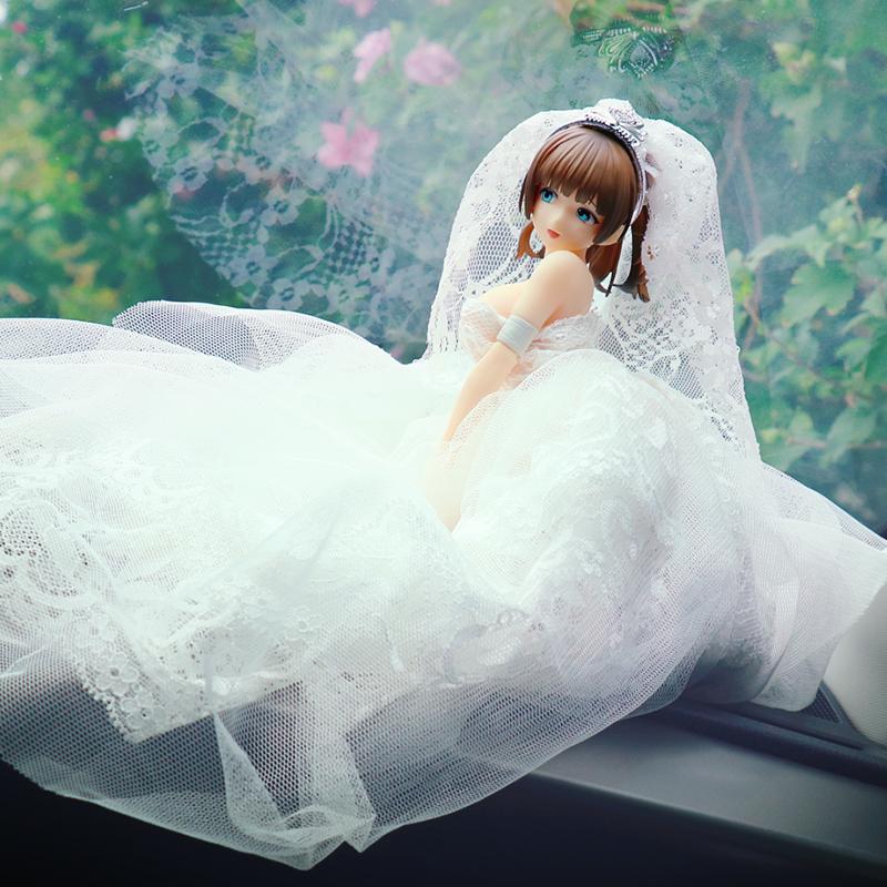 美少女手办手办车载手办手办婚纱少女