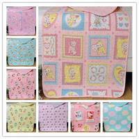 Korean cotton cartoon print hugs are small cushions, small quilts, secret water wash, hugs, children's urine pads, menstrual pads
