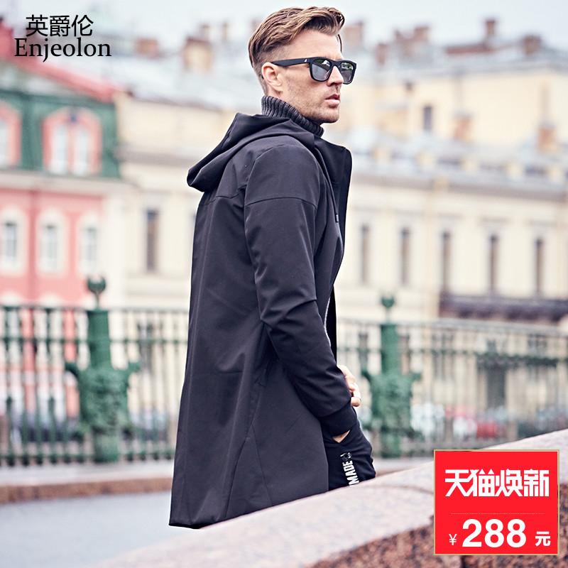 男装外套中长款冬潮牌