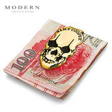 Modern's ALICE COOPER skeleton wallet metal wallet creative wallet