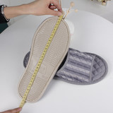 Men's large size 45-48 King skid slippers summer home interior flooring plus fertilizer to increase cotton deodorant