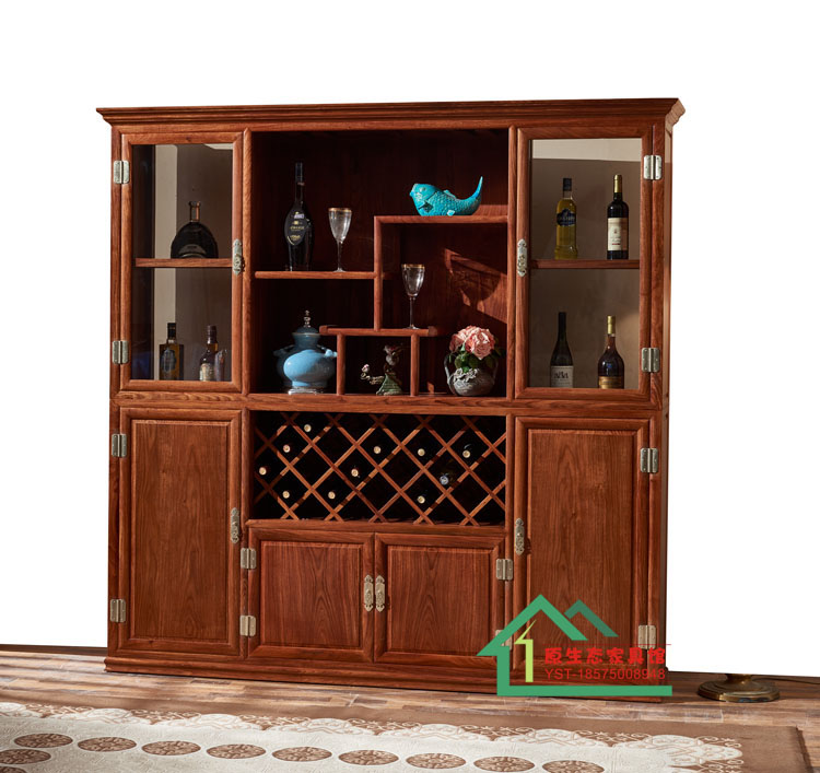 红木家具花梨木酒柜