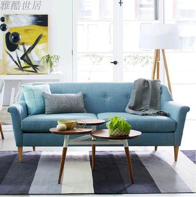 北欧简约复古沙发新款推荐