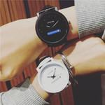 韩国ulzzang原宿潮流时尚复古初中学生男女情侣手表一对韩版简约