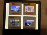 Reverse film/slide/original Kodak Krom/Collectibles Color New/European and American 70s Landscape Characters