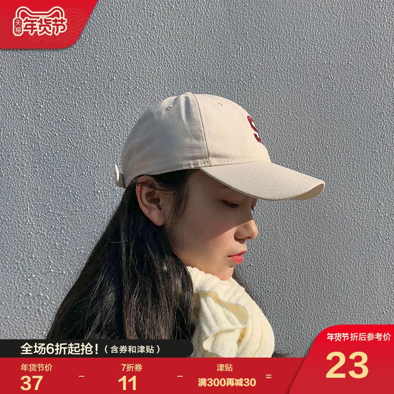唐狮太阳帽子男女秋冬韩版潮棒球帽遮阳ins风百搭防晒情侣鸭舌帽