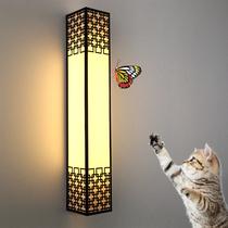 T003新中式壁灯中国风电视墙床头过道铜灯具全铜壁灯欧拉利