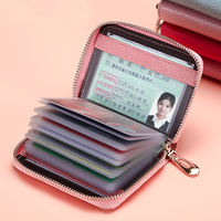 Card package ladies leather document holder large-capacity driving license sets multi-card position men's card package wallet one package small