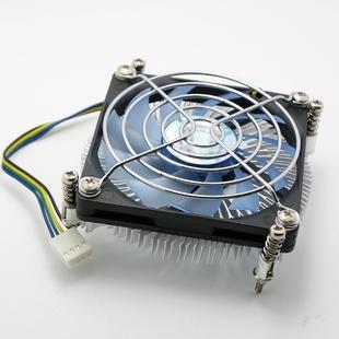 AVC 28mm 铜芯 4线滚珠风扇 1150/1155/1156 cpu散热器 超薄 itx