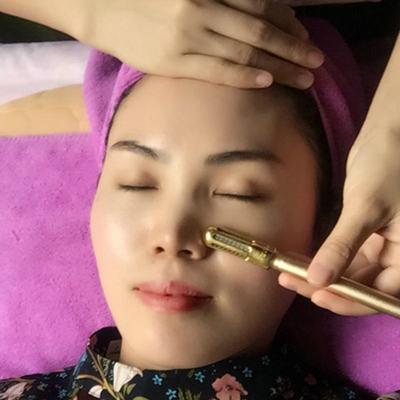 面部艾灸棒纯铜宜灸宝小号温炙棒艾条随身家用眼部艾灸仪器儿童灸
