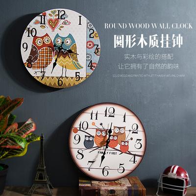 客厅装饰钟表创意挂钟装饰家居品牌资讯