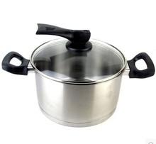 正品爱仕达煲汤锅20cm不锈钢汤奶锅复底大容量炖锅NG1720/NG1722