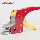 LINGS Button-free Packing Clamp Hot-melt Manual Packing Machine