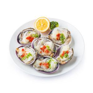 獐子岛蒜蓉粉丝蛤(速冻生制)220g 海鲜水产 贝类 蛤蜊