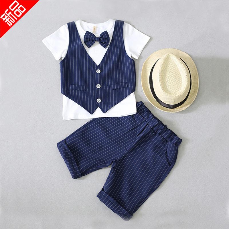 男宝宝绅士西装套装