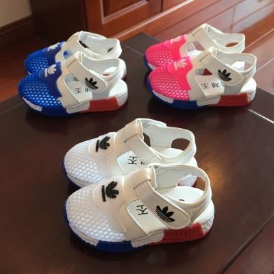 宝宝学步鞋凉鞋婴儿0-1岁软底夏天网鞋2-3岁防滑男童女童沙滩鞋