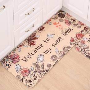 地垫门垫进门脚垫家用卧室地毯厨房浴室吸水防滑垫门口卫生间垫子