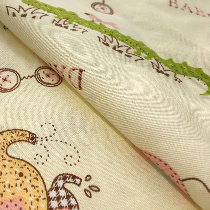 定做儿童被套婴幼儿纯棉被罩被套床单纯棉卡通幼儿园三件套定做