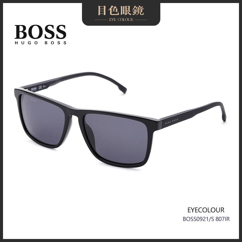 目色眼镜 HUGO BOSS 经典超轻方框男墨镜女时尚太阳镜0921/s