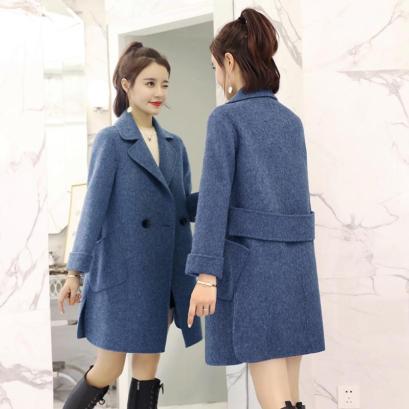 大衣显瘦薄款