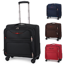 Barker's knife pull-rod suitcase, horizontal 20 inch cardan suitcase, business suitcase, man's Oxford Boarding suitcase