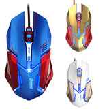 Yibo M639 professional gaming mouse LOL esports CF dedicated USB cable computer luminous macro programming speed QA