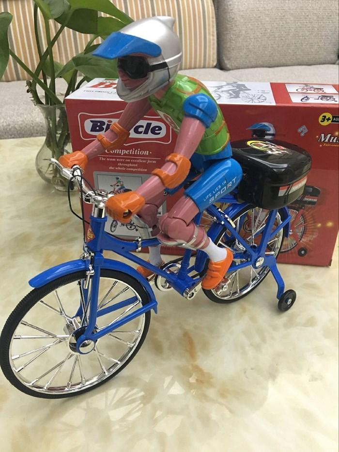 包邮儿童电动自行车模型大号仿真单车闪光轮音乐脚踏车电动玩具车