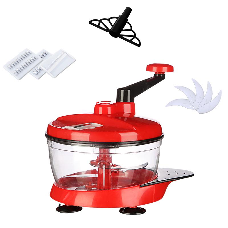 手动绞肉机多功能绞馅机饺子馅碎菜机手摇搅拌器切蒜泥器切菜神器