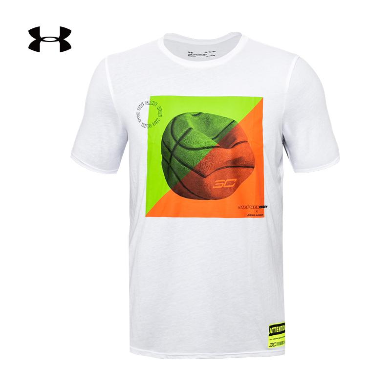 安德玛 官方 UA 库里SC30 男子篮球运动T恤 Under Armour-1357759