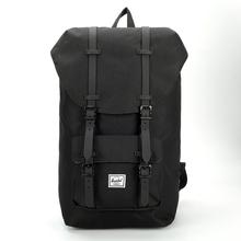 潮流双肩包电脑包大学生书包旅行背包男女 美国Herschel多用包时尚