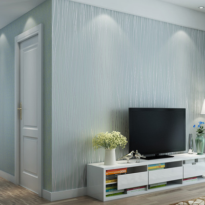 现代简约百搭纯色素色家装墙纸竖条纹卧室客厅工程酒店无纺布壁纸网友购买经历