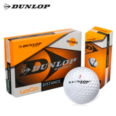 英国DUNLOP官方正品高尔夫球双层两层三层练习球下场比赛球四层球