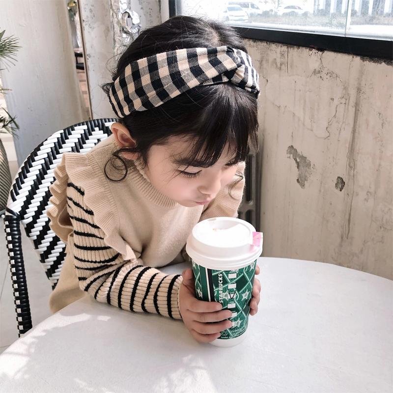 2019春装新款女童套装儿童针织连衣裙宝宝冬季打底高领毛衣两件套