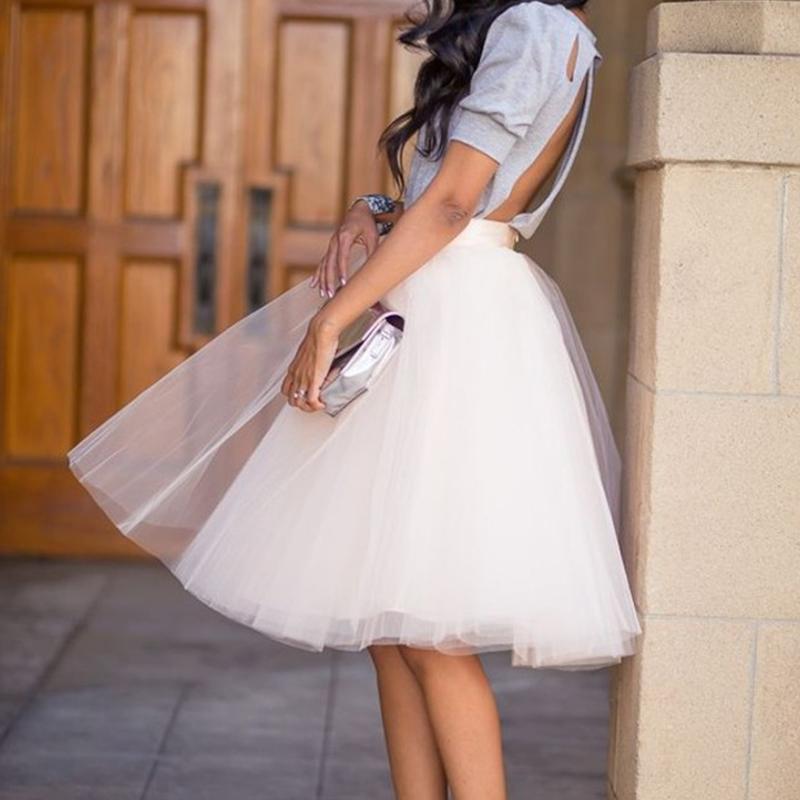 Tulle Skirt 多层网纱蓬蓬裙半身裙表演裙衬裙半婚纱旅行拍照特价