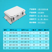 Monitoring waterproof box plastic waterproof box junction box monitoring power supply waterproof box outdoor waterproof box outdoor rain box