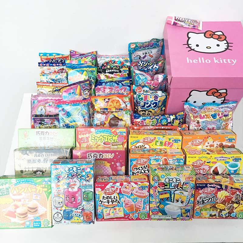 日本食玩套装40件全套可食大礼包女孩的小伶玩具曰本食丸小玲食完
