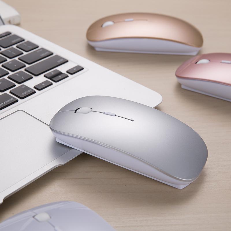 蓝牙无线鼠标可充电式女生静音无声适用联想小米华硕戴尔华为惠普thinkpad笔记本电脑办公男台式可爱便携鼠标